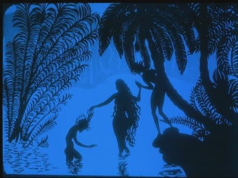 The Adventures of Prince Achmed - the oldest surviving animated feature film made by Lotte Reiniger in 1926. Such a spiritual, profound and crazy plot.